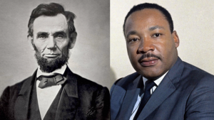 Lincoln and Martin Luther King